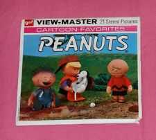 vintage The Wonderful World Of Peanuts View-Master Reels with booklet