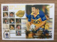 2002 NRL SELECT TEAM OF THE YEAR 2001 TY7 NATHAN HINDMARSH PARRAMATTA EELS