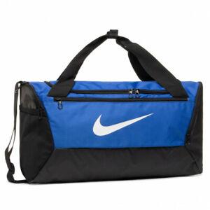 Mens Nike Brasilia Gym Bag BA5957 480 Blue/Black 41 Litres
