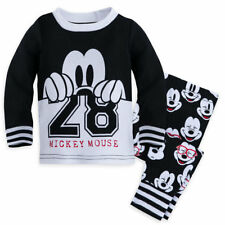 Disney Mickey Mouse Pajama Baby Boys Size 18-24 Months