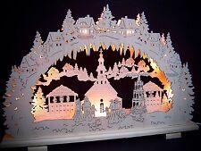 2d Arcos de luces arbotantes Seiffen Mercado navideño 7 lámparas 57 x 38cm 10173