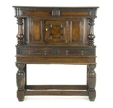 Antique Furniture Sideboard, Georgian Court Cupboard, Scotland 1810, B1073