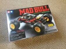 Tamiya 58205 1/10 RC Mad Bull w/ESC Off Road 2WD Buggy Kit NEW!
