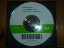 Original Start up disk with Drivers, Manuals for HP DesignJet T610 Plotters.DVD
