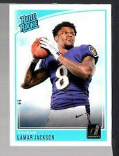 2018 Donruss #317 Lamar Jackson RR RC Ravens HTN 493