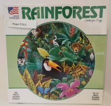 Brand New RAINFOREST 500 Piece Jigsaw Puzzle by Charles Lynn Bragg #951 Vtg 1991