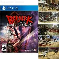 Berserk And The Band Of The Hawk For PlayStation 4 Brand New Ps4 Games