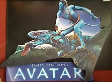 NEW 2 PIECE ORIGINAL AVATAR CARD BOARD DISPLAY POSTER, FREE COLLECTION . . .