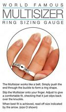 50 x UK Ring Finger Sizer Gauge A-Z Multisizer Wholesale Joblot