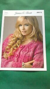 knitting pattern for  ladies  chunky cardigan  size 32 to 42