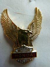 PIN'S MOTO /   SIGLE  HONDA    /  RARE