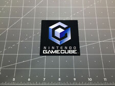 Nintendo GAMECUBE video game logo decal sticker retro vintage gaming Mario