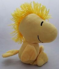"PEANUTS PLUSH TOY WOODSTOCK 9"" SITTING YELLOW BIRD FROM CHARLIE BROWN / SNOOPY"