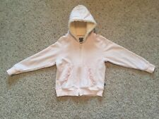 Toddler Girl Size 2T KicKee Pants Pink Hooded Sweat Shirt/jacket