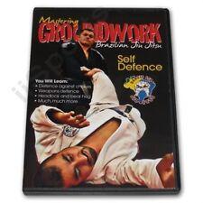 Mastering Groundwork Brazilian Jiu Jitsu Self Defense Dvd Darlynson Lira defence