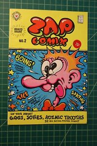 ZAP #2 1968 HIGH GRADE 2ND OR 3RD PRINTING OFF-WHITE TO CREAM PAGES