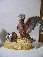 Wild Turkey & Racoon Decanter