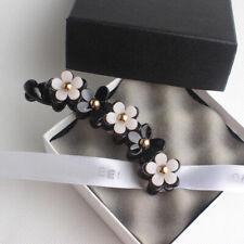Fashion Women Girls Hairpins Floral Black Hair Clip Sample Hair Accessories