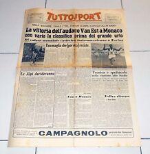 Tuttosport 20 luglio 1953 TOUR DE FRANCE Van Est Monaco Atletica Torino