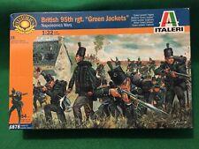 Napoleonic Era British 95th Rifles -1/32 Scale - Italeri Plastic Figures