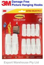 3M Command Picture hanging hooks Damage free, hold strong 10 value pack