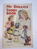 "1950'S ""MY DOLLIES STORY BOOK"" - SAALFIELD - BOOKLET -  TUB RH-3"