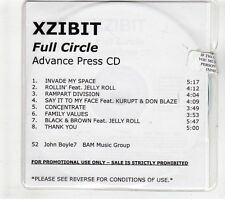 (GT401) Xzibit, Full Circle - 2006 DJ CD