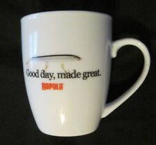"""Rapala Ceramic Coffee Mug """"Good day, made great"""" Excellent Condition"""