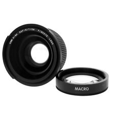 52mm 0.35x HD Wide Angle Fisheye Lens for Canon 60D 750D 650D Rebel T6i T5i