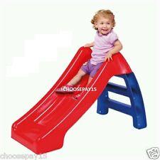 Bambini BIMBI la mia prima diapositiva INDOOR OUTDOOR GARDEN GIOCATTOLO compatto pieghevole di stoccaggio