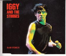 CD MAXI 4 T IGGY POP AND THE STOOGES *RAW POWER*  ( LIMITED EDITION 1000 COPIES)