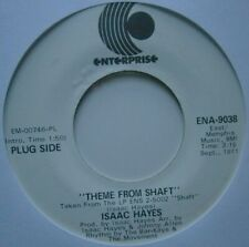 "ISAAC HAYES: Theme From Shaft (Enterprise) US 1971 Promo 7"" single"