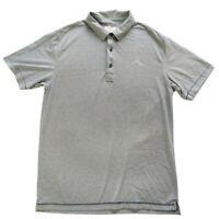 Linksoul John Ashworth L Polo Shirt Green Nanea Gold Club Hawaii Luxury Cotton