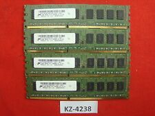 8gb 4x 2gb ddr3 di RAM 2rx8 ecc pc3-10600e 1333 MHz Micron Apple Mac Pro 5.1
