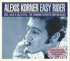 ALEXIS KORNER EASY RIDER - 2 CD BOX SET - THE FOUNDER FATHER OF BRITISH BLUES