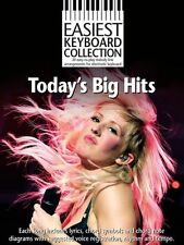 Easiest Keyboard Todays Big Hits The Wanted Ellie Goulding Piano Music Book