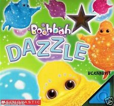 BOOHBAH DAZZLE Push Button, Light Up Stars, Children's Board Book Ages 3+