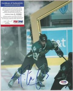 Mike Ribeiro Signed 8x10 Photo PSA DNA COA Dallas Stars Autographed a