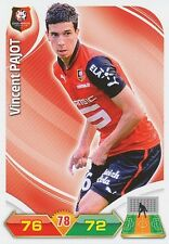 VINCENT PAJOT STADE RENNAIS.FC TRADING CARDS ADRENALYN PANINI FOOT 2013