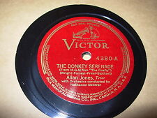 ALLAN JONES giannina mia / donkey serenade - 78 - victor 4380 -
