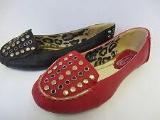 Rojo De Niñas / Negro Ajustadas Bailarinas GB 10-2 h2272
