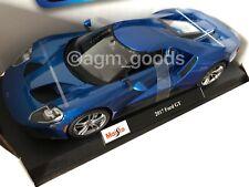 Maisto 1:18 Scale - Ford GT - Blue - Diecast Model Car