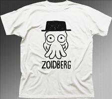 ZOIDBERG BREAKING BAD 1973 stampata bianca T-shirt di Cotone 9696