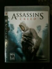 NEW Factory Sealed Assassin's Creed PS3 Original Black Label Video Game RARE '07