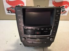 2013 TO 2014 IS250 RADIO CD PLAYER NAVIGATION COMPLETE UNIT