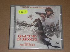 PINO DONAGGIO - QUALCUNO IN ASCOLTO: ORIGINAL SOUNDTRACK - CD SIGILLATO (SEALED)