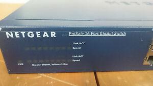 Netgear ProSafe 16 Port Gigabit Switch JGS516 v1