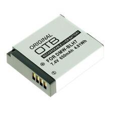 Originele OTB Accu Batterij Panasonic Lumix DMC-GM5W - 650mAh Akku Battery