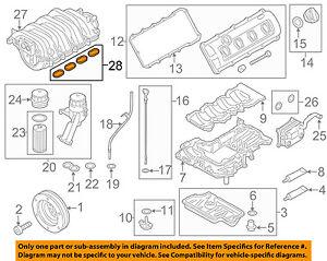AUDI OEM 09-12 A8 Quattro-Engine Intake Manifold Gasket 079198717