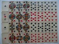 Altes Kartenspiel 32 Karten Skat komplett ca. 1900 Österreich Ferd. Piatnik Wien